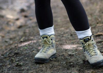 Jeûne et Randonnée chaussures
