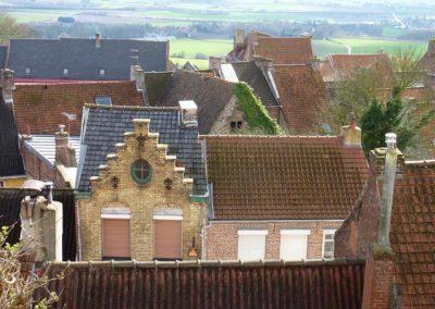 Cassel - Village toiture paysage