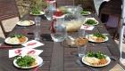 Détox Oleatherm - Déjeuner terrasse soleil